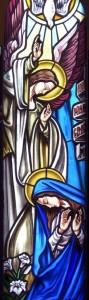 Vetrata artistica dell'Annunciazione