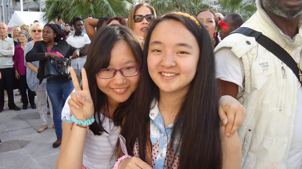 Ragazze della comunità cinese
