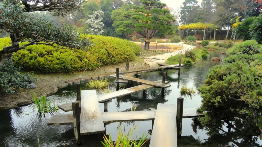 Parco Okayama (letteralmente significa: giardino per godere il piacere più tardi) in Giappone.