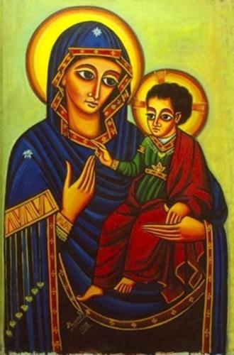 Consolata secondo l'iconografia etiopica
