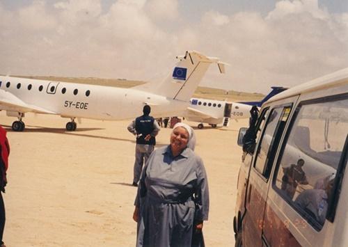 Ultima foto, scattata a Mogadiscio